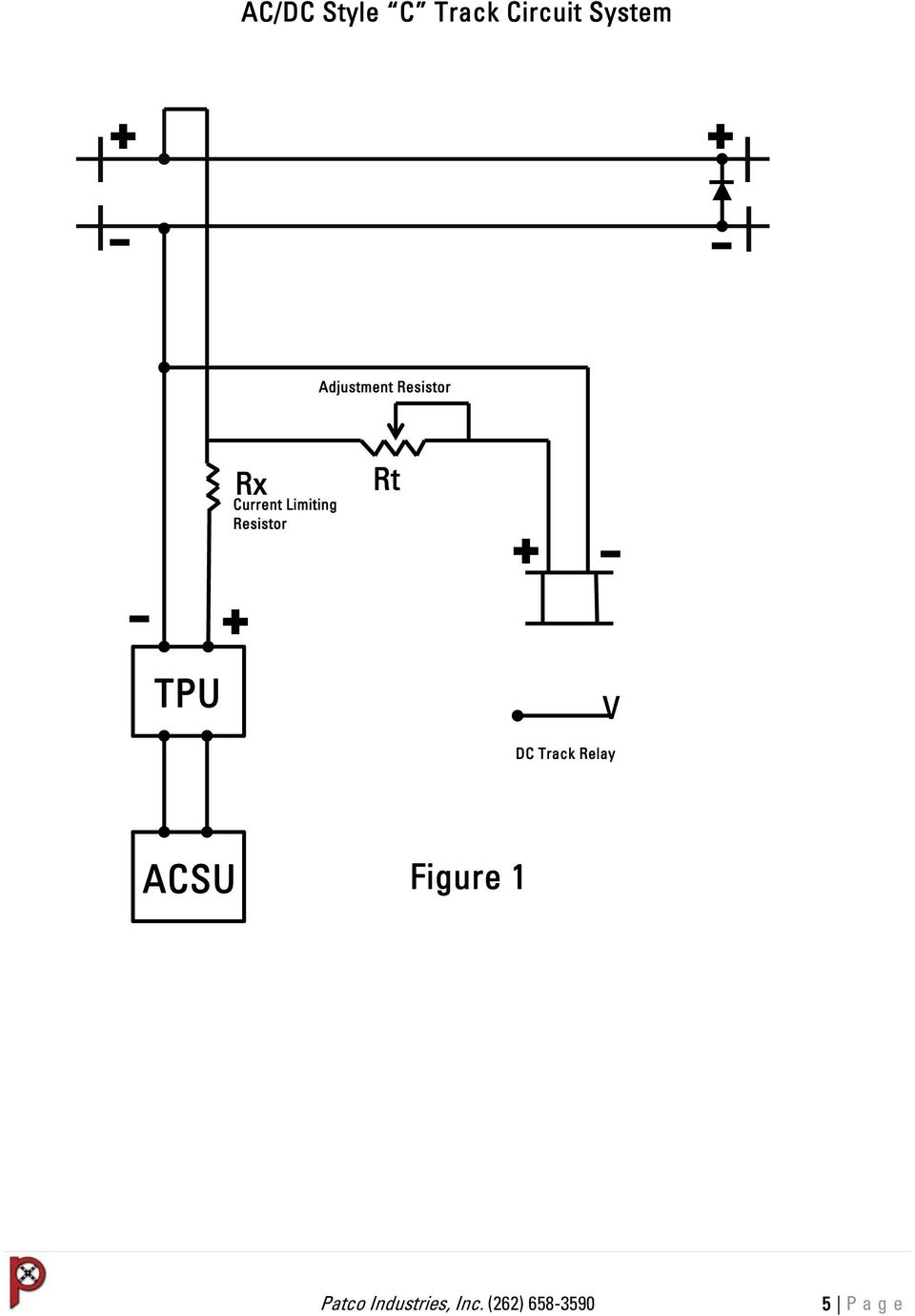 Ac Dc Track Circuit System Os And Fouling Applications Pdf Circuits Current Limiting Resistor Rt Tpu 6 Style C