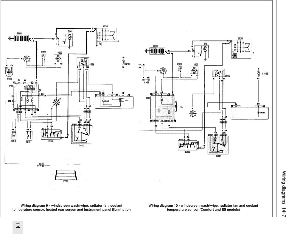 wiring diagrams ponent key for 1 to 29 note not rhdocplayer: skoda octavia  wiring diagram