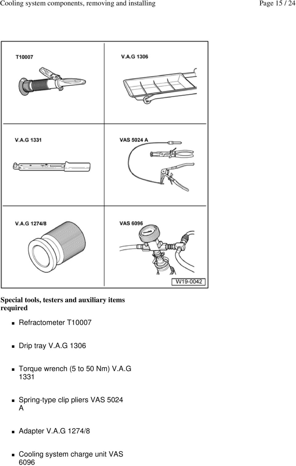G 1306 Torque wrench (5 to 50 Nm) V.A.