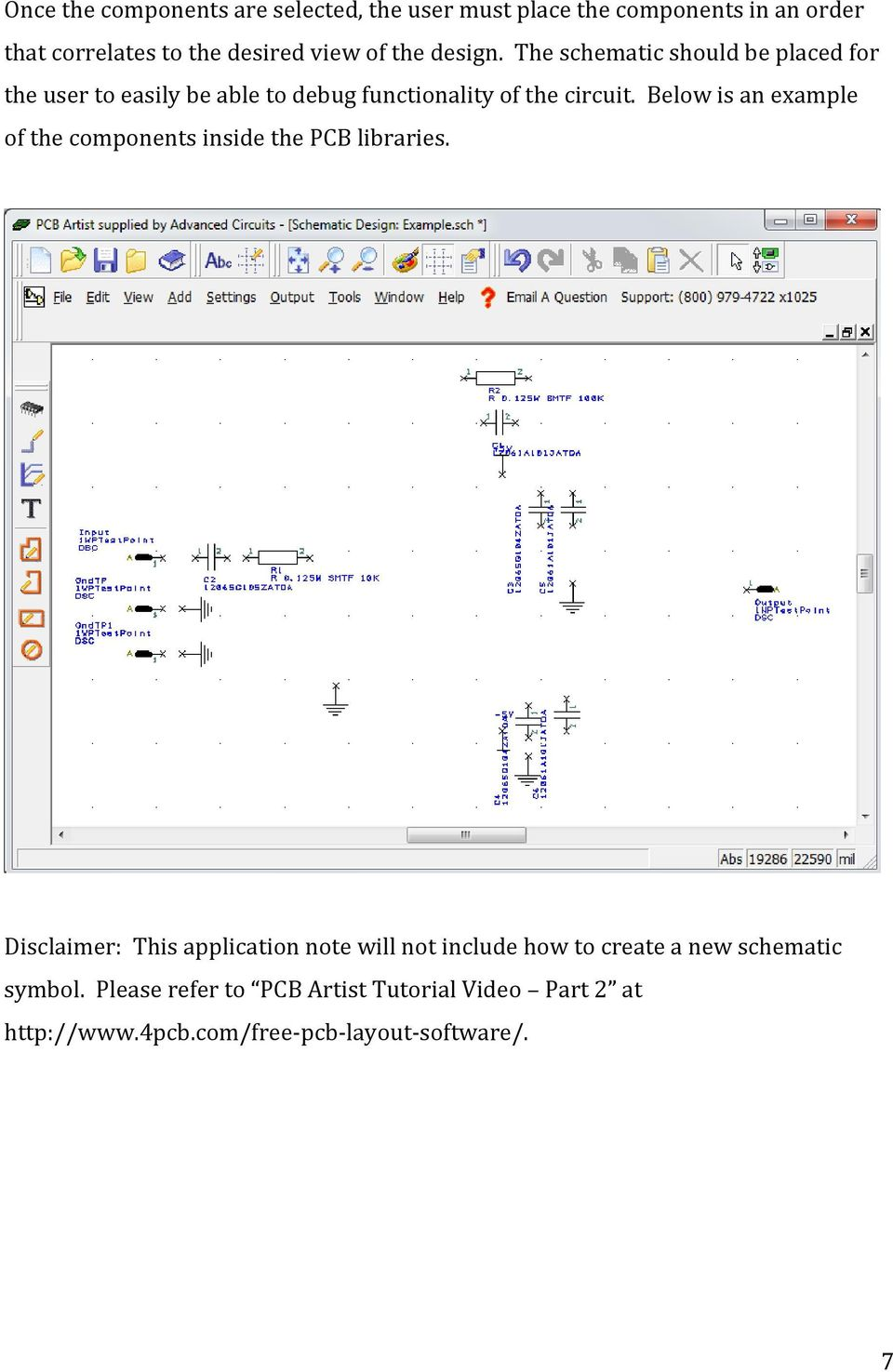 Figure 2 Schematic View In Eagle Pcb Software Designing A And Layout Artist Pdf Below Is An Example Of The Components Inside Libraries