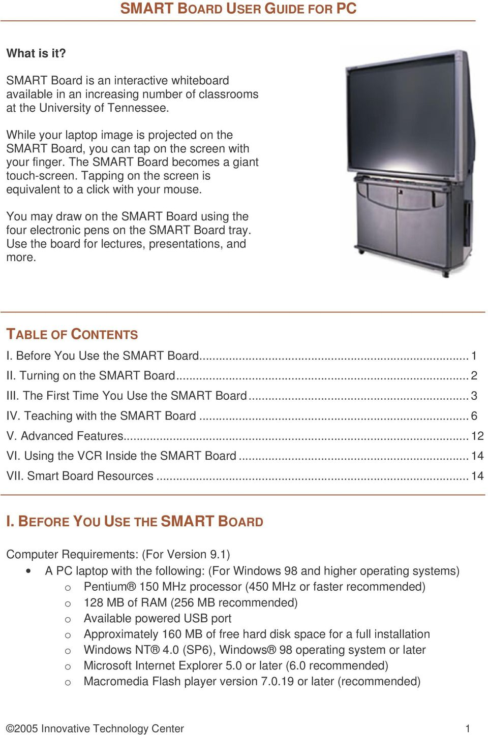 smart board user guide for pc table of contents i before you use rh docplayer net smart board games for children smart board games for children