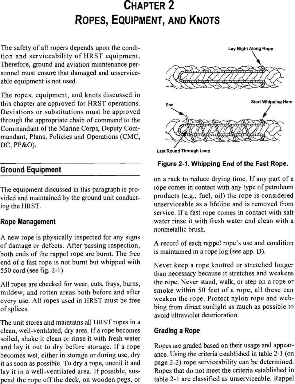 Helicoptie r Rope Suspension Techniques (HRST) Operations - PDF