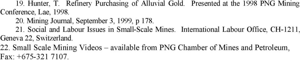 SMALL SCALE GOLD MINING AND MARKETING IN PAPUA NEW GUINEA - PDF