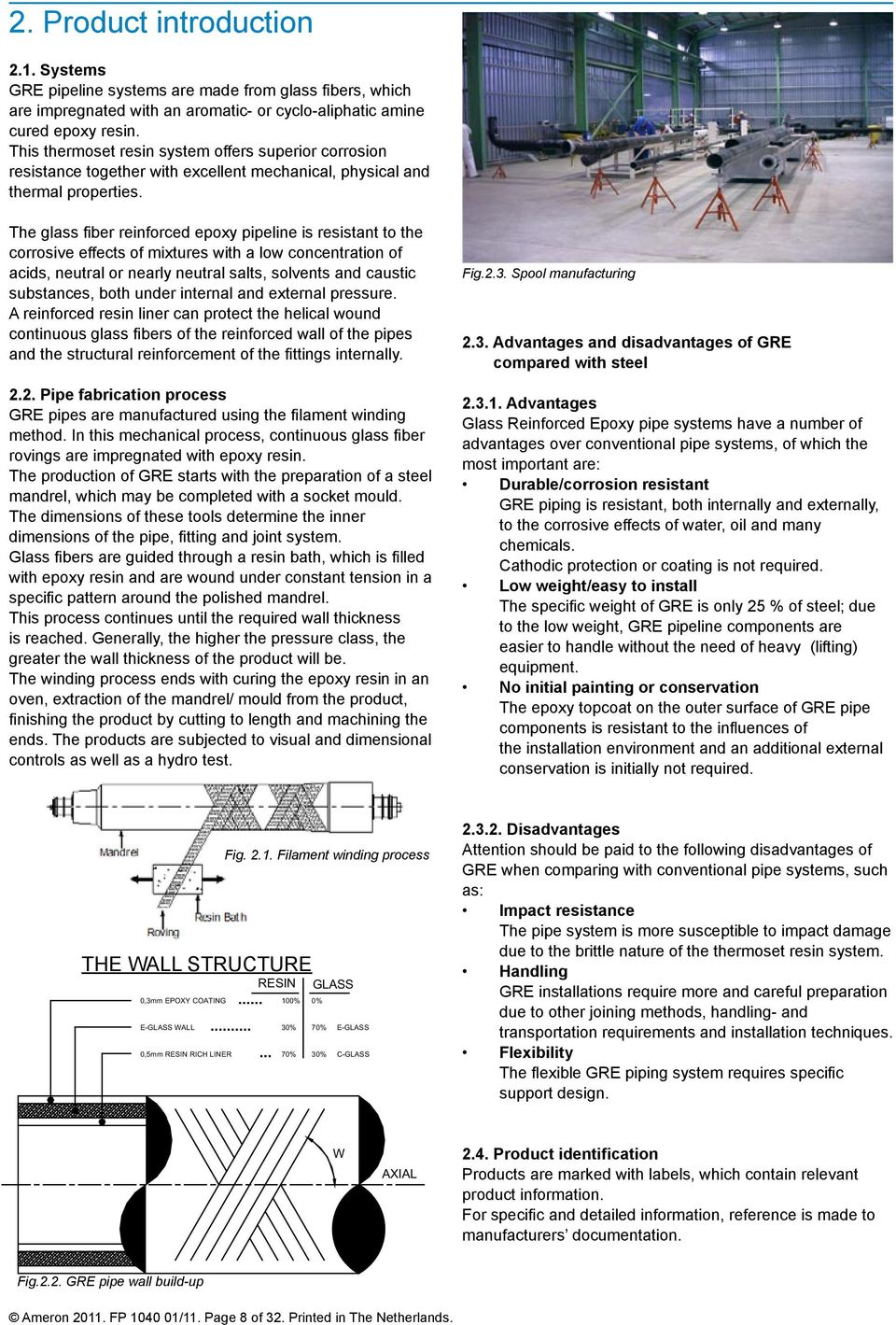 Installation Guide for GRE Pipe systems - PDF