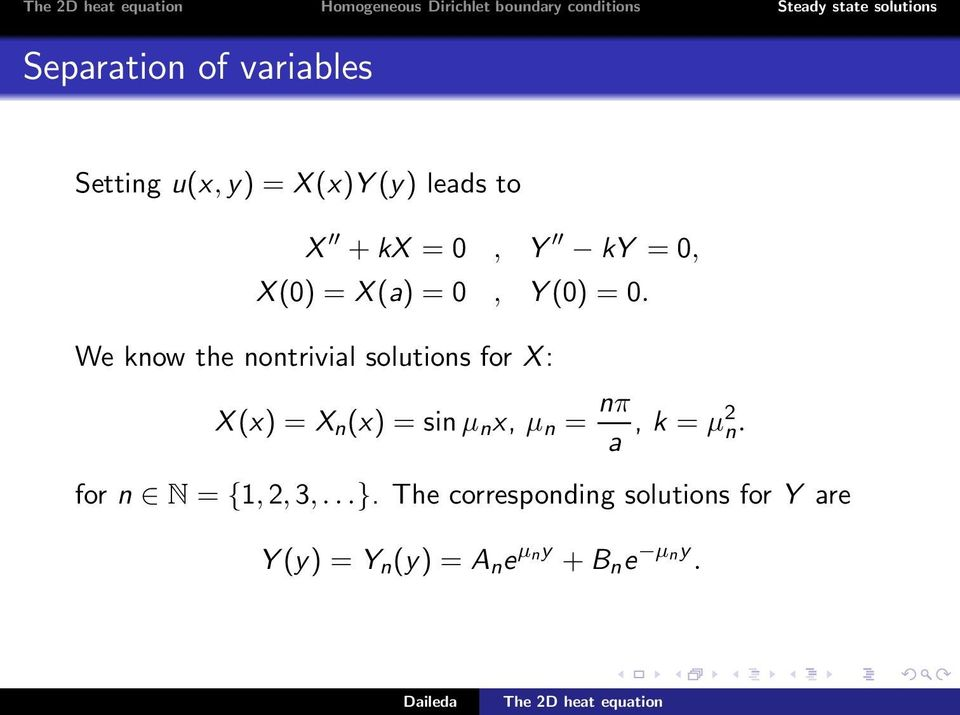 The two dimensional heat equation - PDF