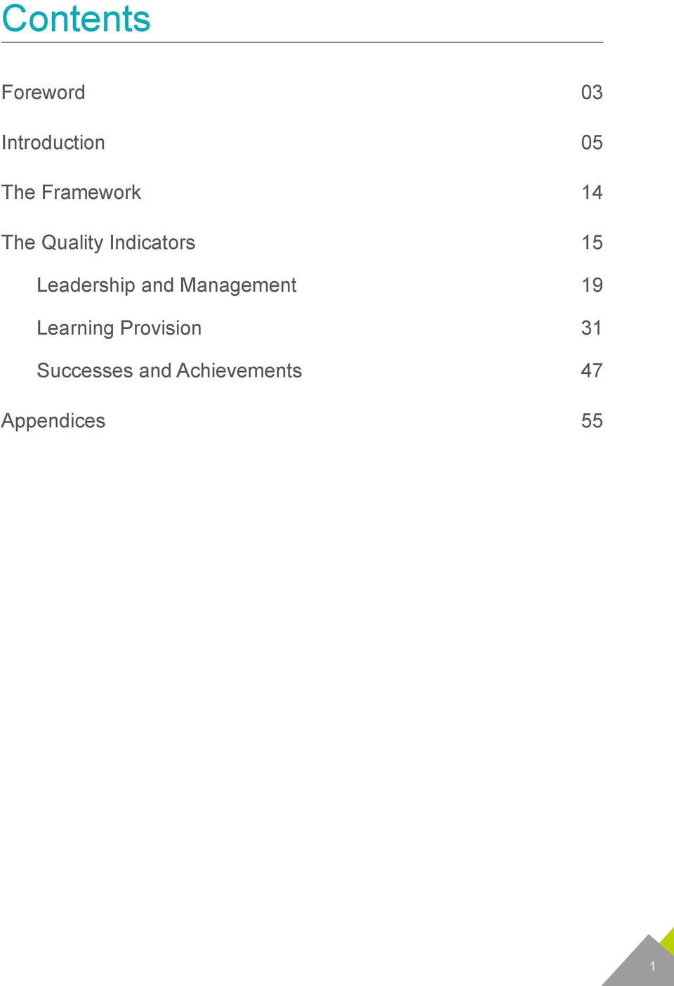 Leadership and Management 19 Learning
