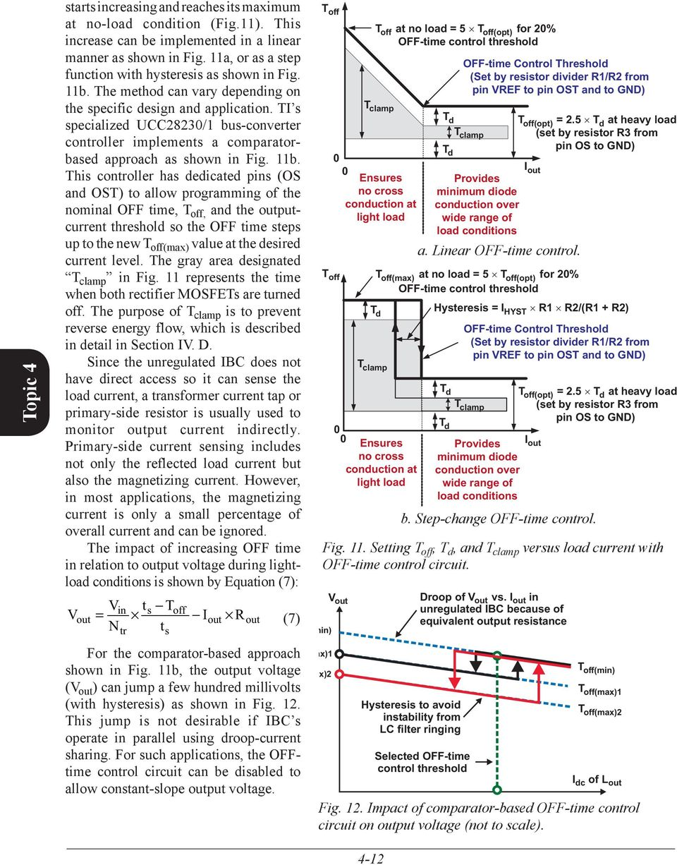 Improving System Efficiency With A New Intermediate Bus Architecture Figure 2 Hysteretic Buck Led Driver Circuit Ti S Specialized Ucc28230 1 Converter Controller Implements Comparatorbased Approach As Shown