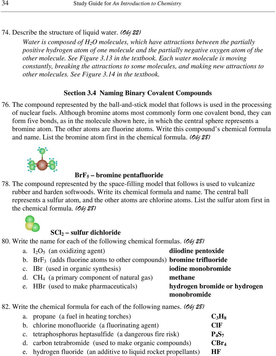 Chapter 3 Chemical Compounds Pdf