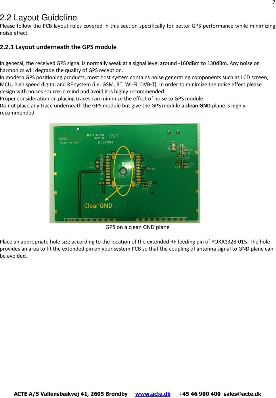 Gps Module Application Notes Ubx G7020 Series Pdf Pcba Pcb Assembly Circuit Board In Modern Positioning Products Most Host System Contains Noise Generating Components Such As Lcd 8 Receiver