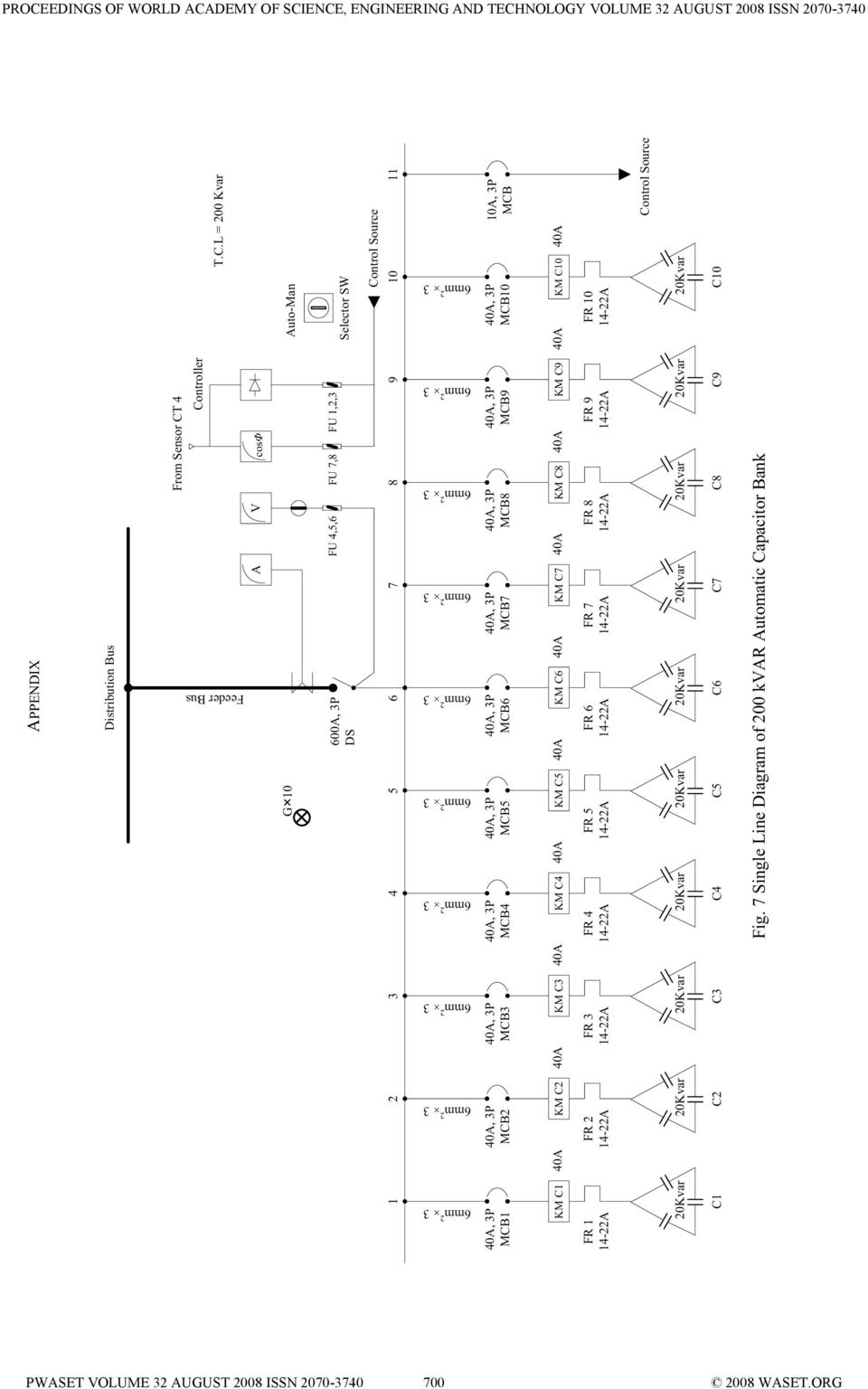 Improvement Of Power Factor For Industrial Plant With Automatic Gcse Physics How Does A Circuit Breaker Work What Is An Mcb Mcb3 Mcb4 Mcb5 Mcb6 Mcb7 Mcb8 Mcb9 Mcb10 10a 3p Km C1 40a