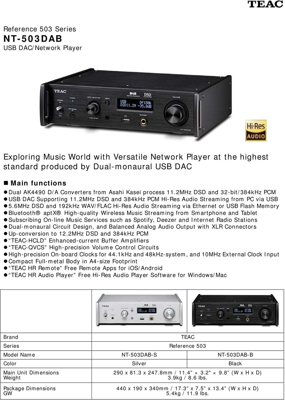 Exploring Music World with Versatile Network Player at the highest