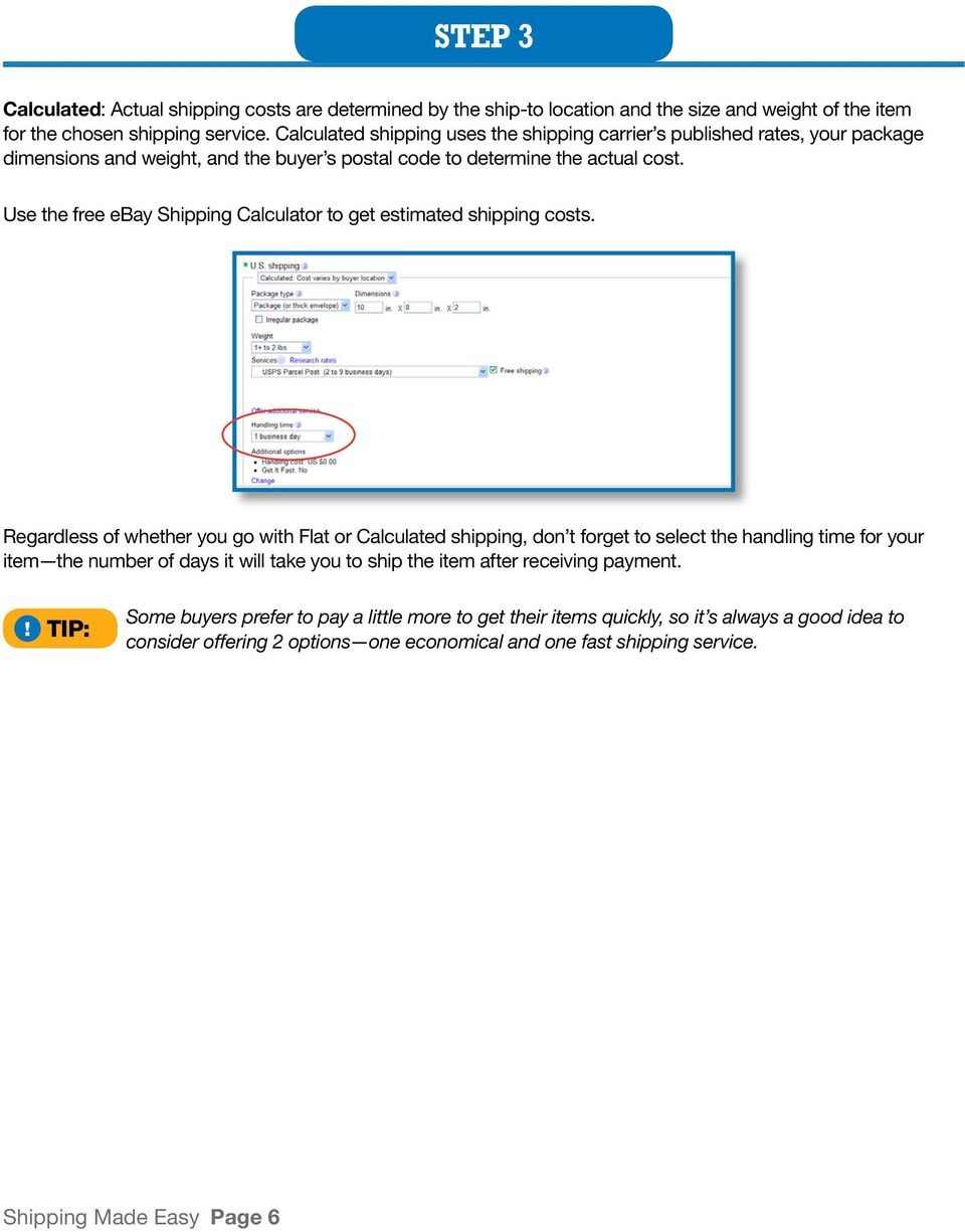 Shipping Made Easy  How to Ship on ebay: A Step-by-Step