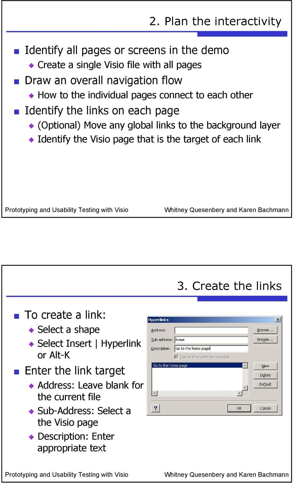Prototyping and Usability Testing with Visio - PDF