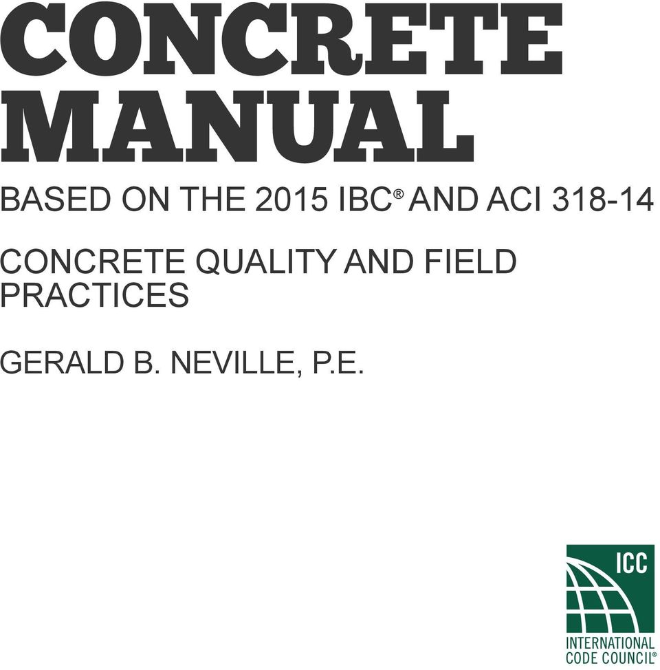 Manual for Jointed Precast Concrete Pavement