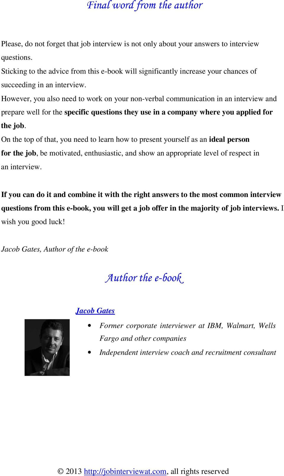 Walmart Interview Questions And Answers | 15 Most Typically Used Interview Questions And Answers Pdf