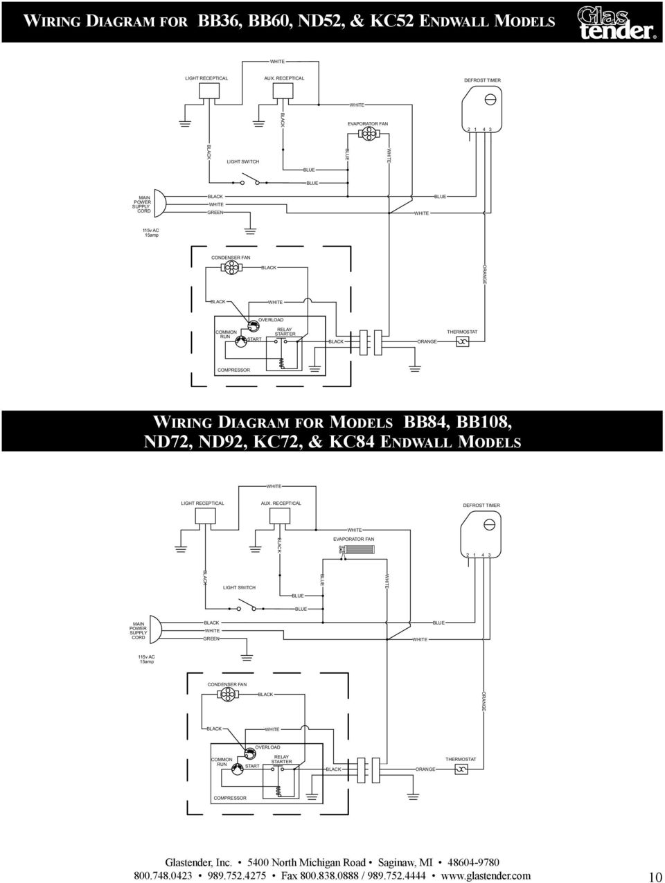 Operation Manual Parts Directory And Price List Pdf Door Shroud Latch Assembly Diagram For Maytag Common Run Start Relay Starter Ack Orange Thermostat Compressor Iring Models Bb8 Bb08