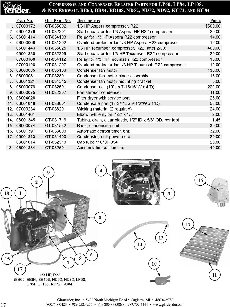 Replacement Parts Diagram And Parts List For Tecumseh Allproducts