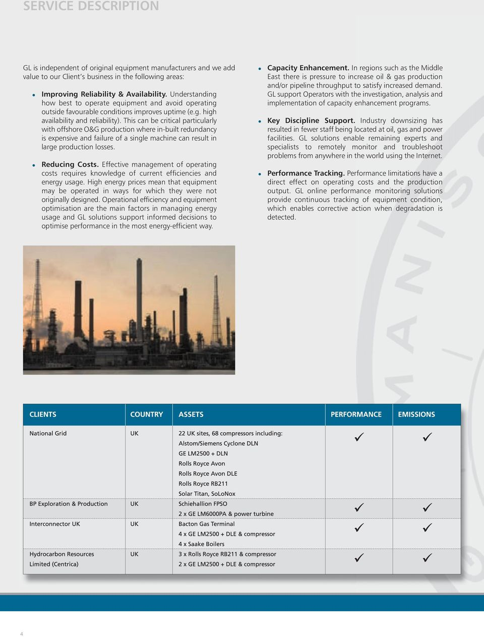 Rotating Equipment Performance & Condition Monitoring including