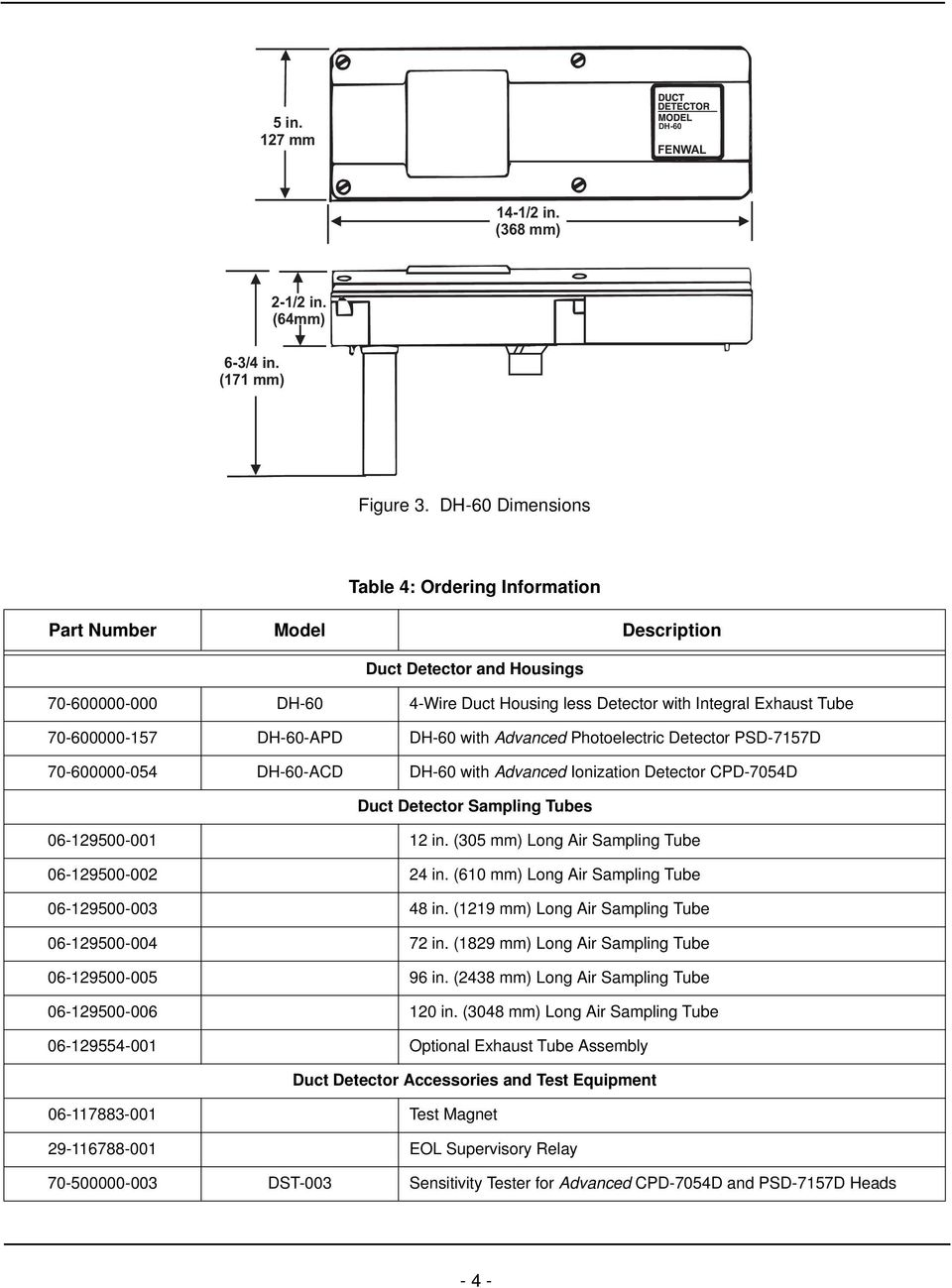 Fenwal Dh 60 Wiring Diagram Electrical Diagrams Burnham Boiler 4 Wire Air Duct Smoke Detector Protection Systems A Utc Fire