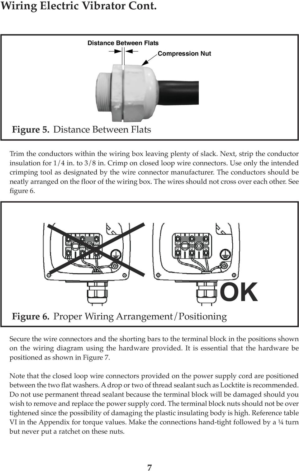 Italvibras Usa Operator S Manual Pdf Wiring Diagrams Terminal Blocks The Conductors Should Be Neatly Arranged On Floor Of Box Wires