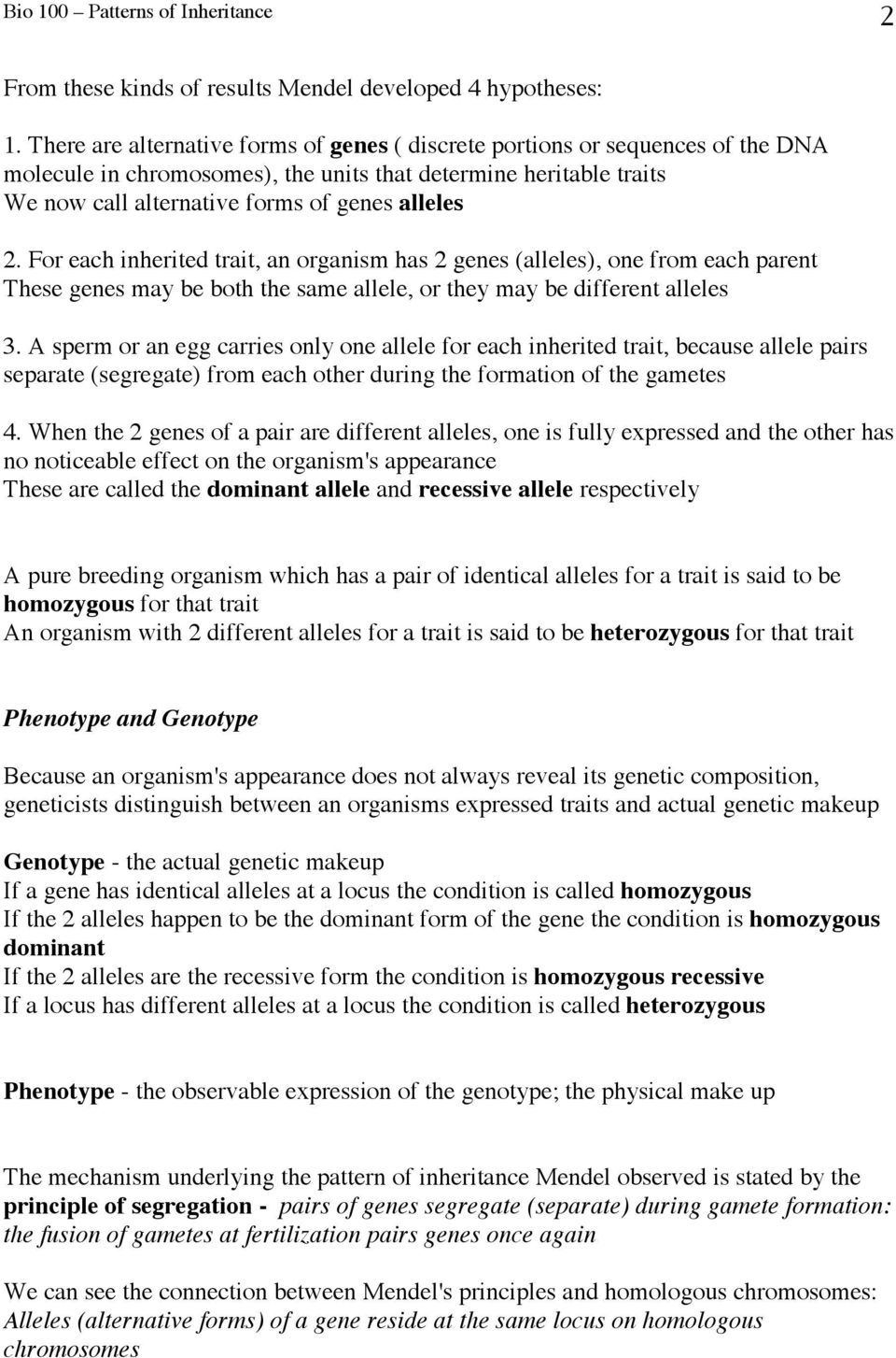 chapter 9 patterns of inheritance guided reading activities answer key