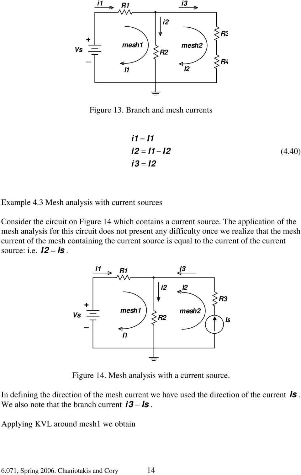 Circuit Analysis Using The Node And Mesh Methods Pdf Learn About Thevenin Theorem Dependent Source Circuits Application Of For This Does Not Present Any Difficulty Once We