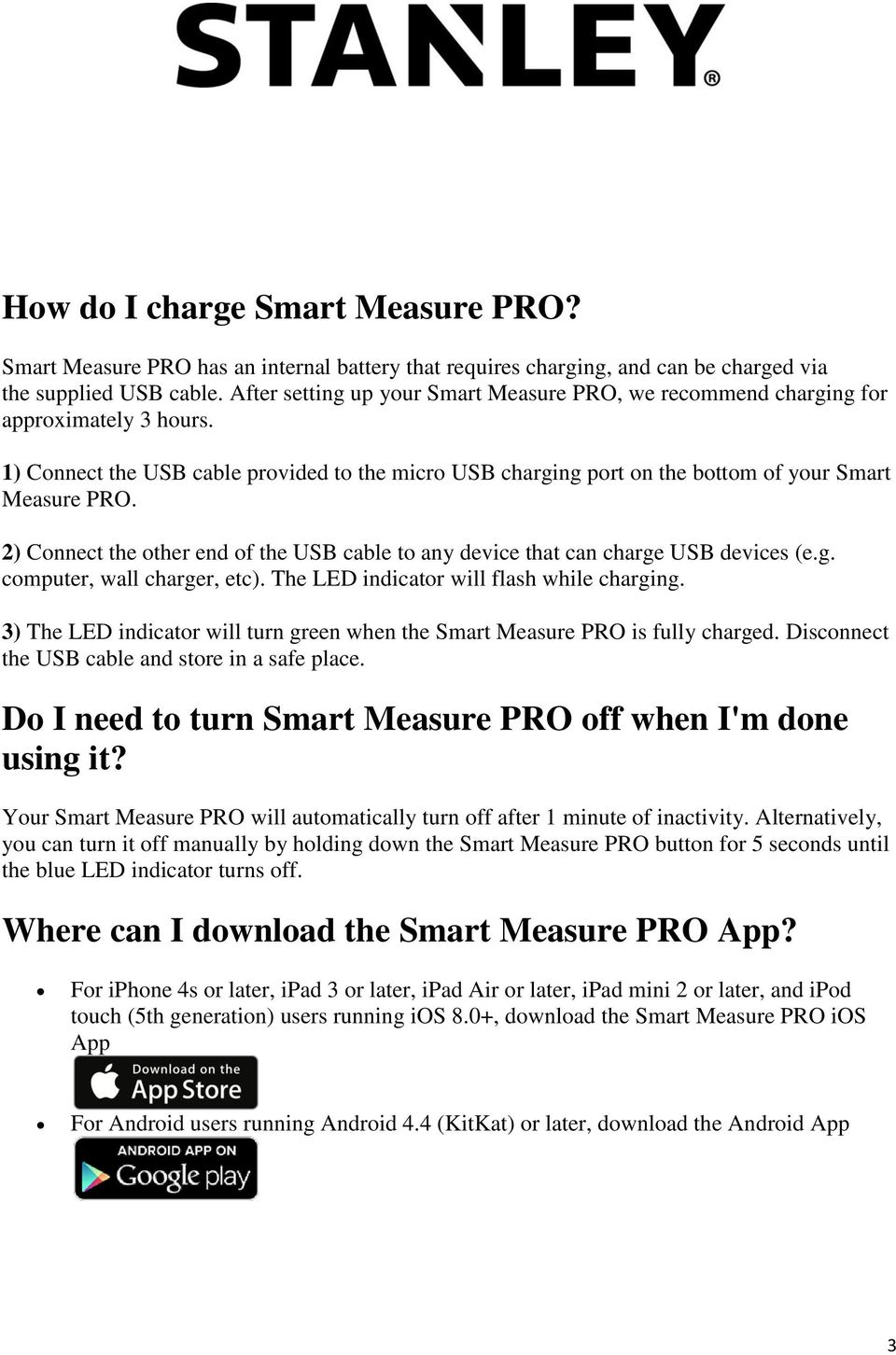 What Smartphones and Tablets are supported by Smart Measure