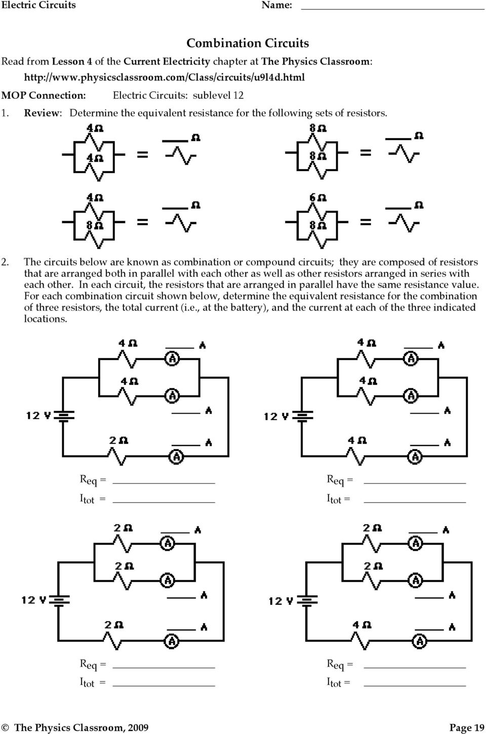 Electric Potential Difference - PDF