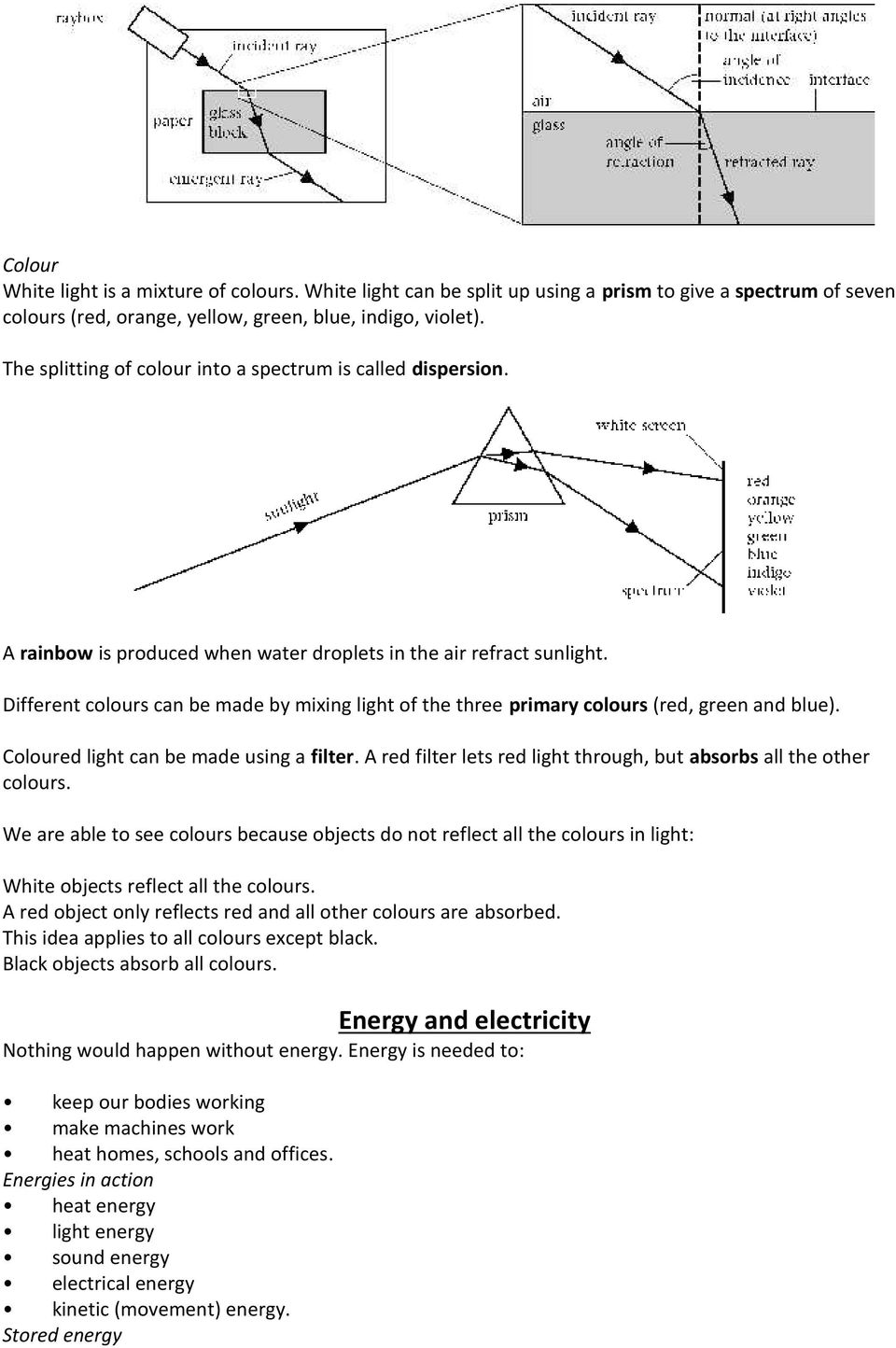 Standard Grade Bitesize Physics Useful Circuits Revision Page 4
