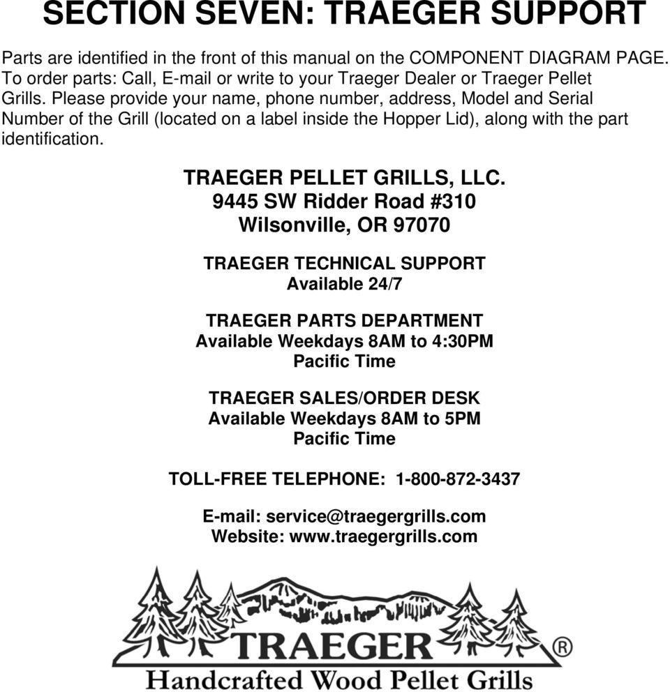 Traeger Grill 100 Wiring Diagram Libraries