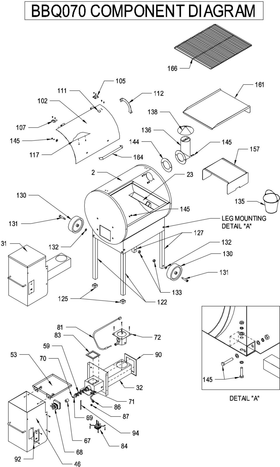Traeger Parts Texas Schematic   Wiring Library