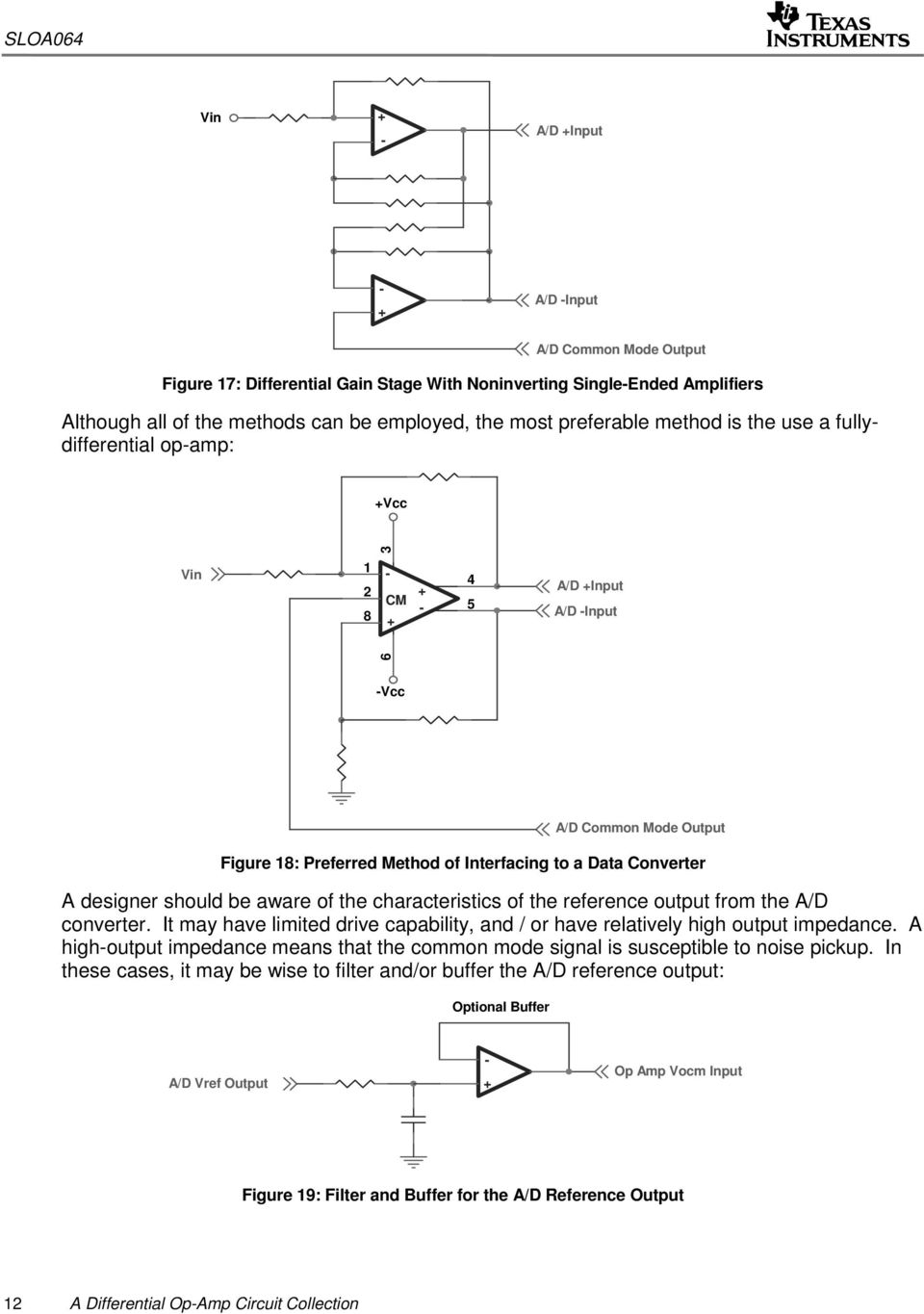 A Differential Op Amp Circuit Collection Pdf Ad Converter Characteristics Of The Reference Output From D It May Have Limited