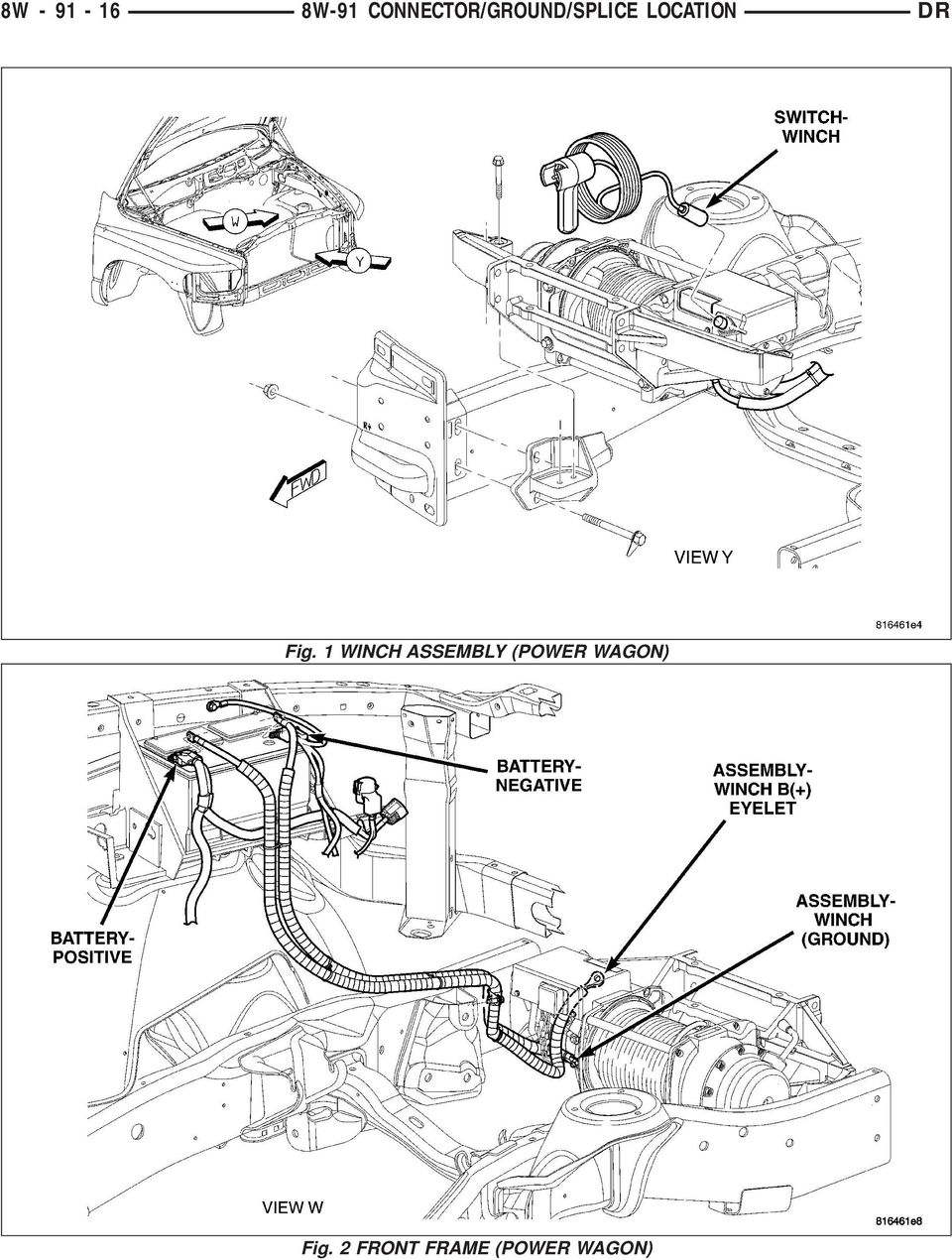 Connector Ground Splice Location Pdf 2003 Tacoma Power Window Wiring Schematic Dr Fig