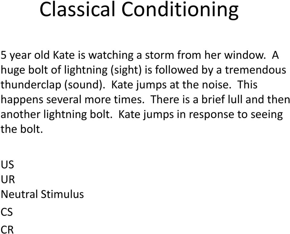 Classical Conditioning - PDF