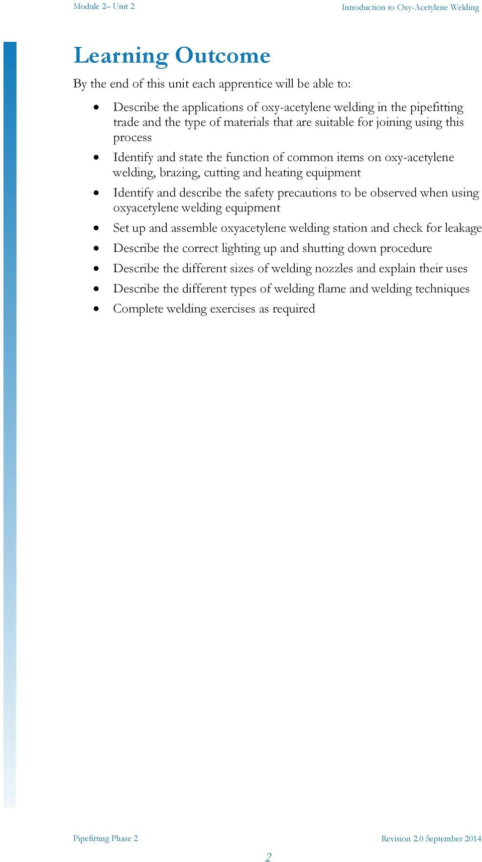 Introduction To Oxy Acetylene Welding Pdf Equipment Diagram Precautions Be Observed When Using Oxyacetylene Set Up And Assemble Station