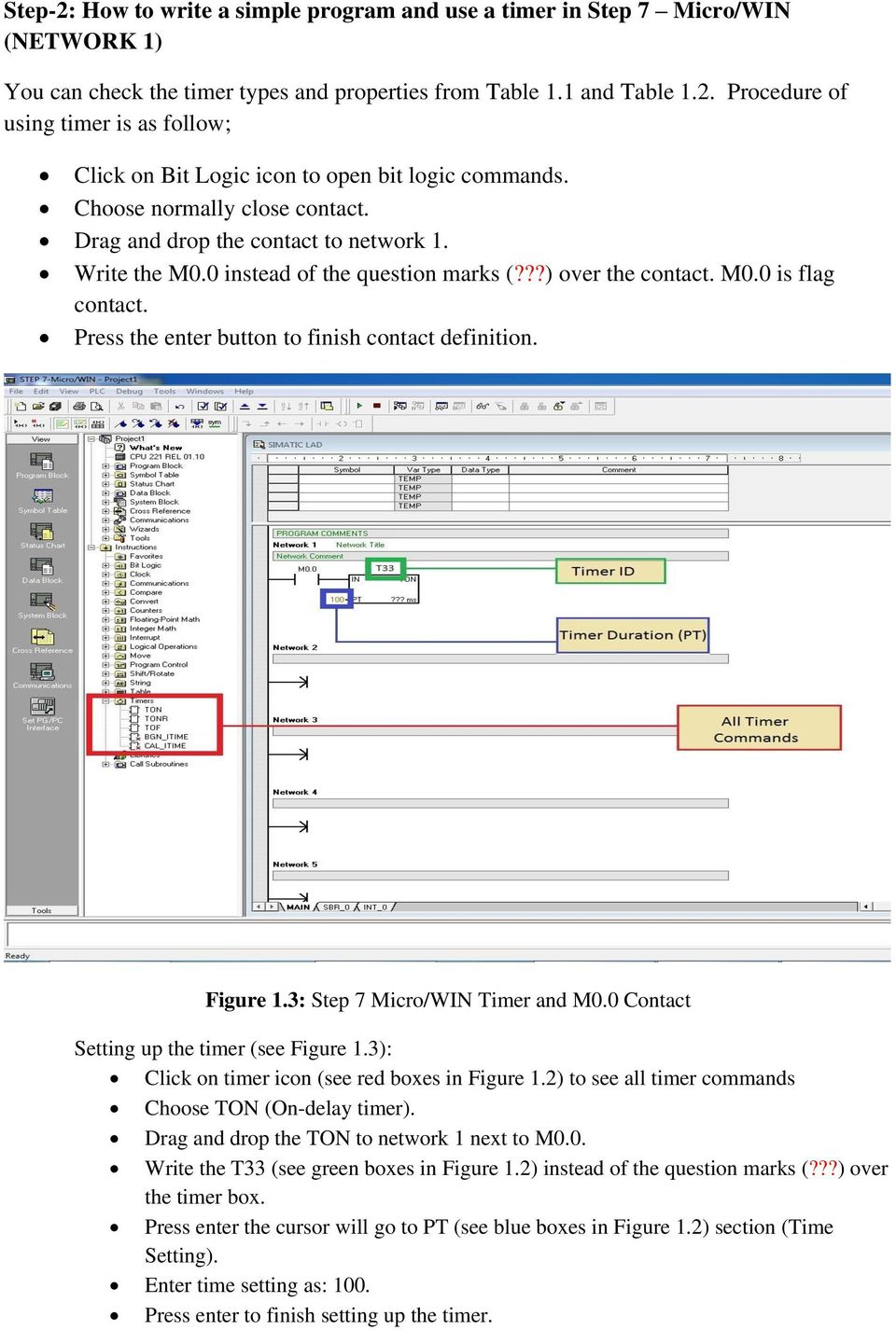 Press The Enter Button To Finish Contact Definition Figure 13 Step 7 Micro