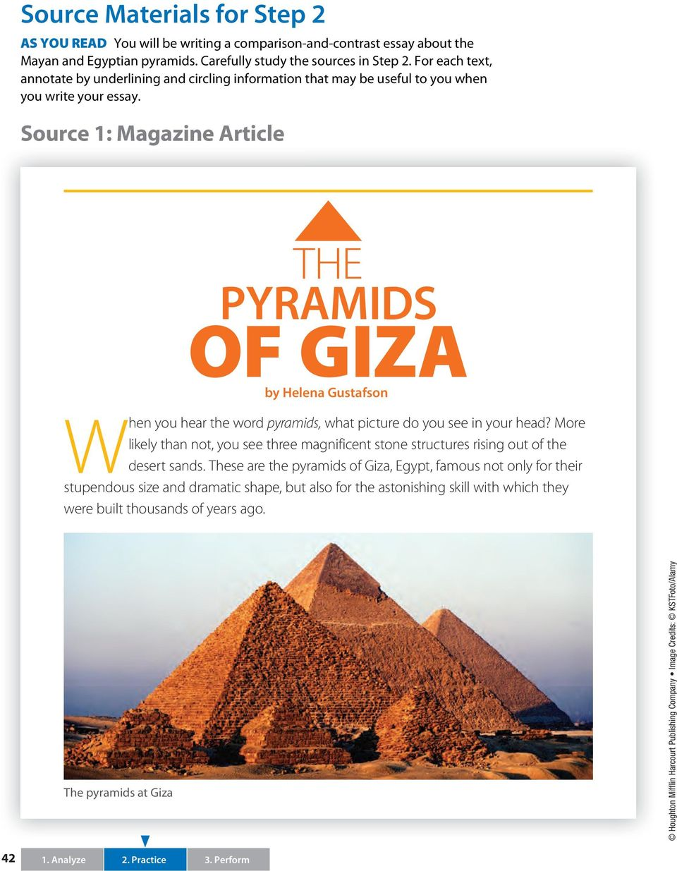 In what ways are the Mayan and Egyptian pyramids alike and different ...