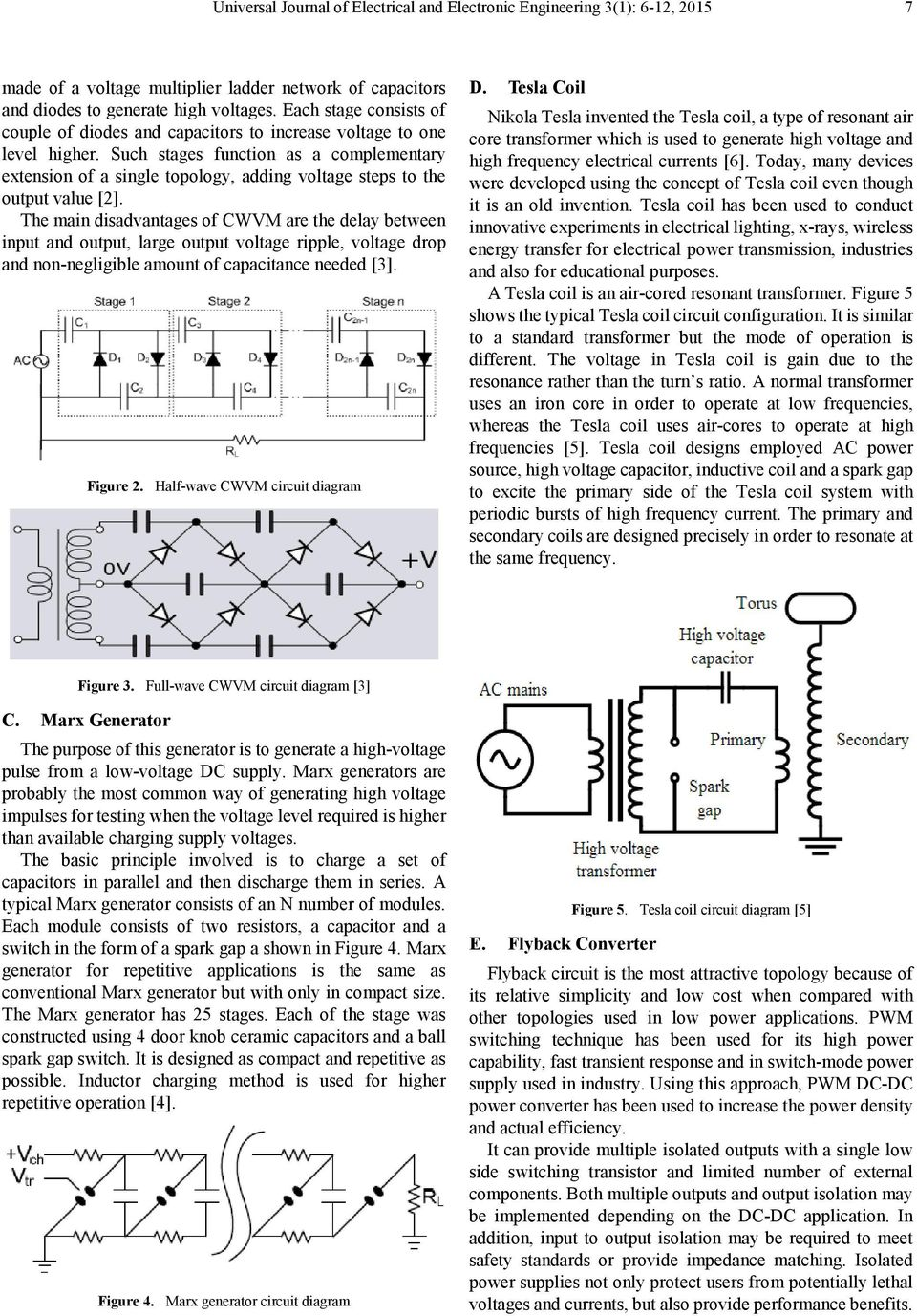 Design Of High Voltage Low Power Supply Device Pdf Circuit Moreover Dc Furthermore Such Stages Function As A Complementary Extension Single Topology Adding Steps To