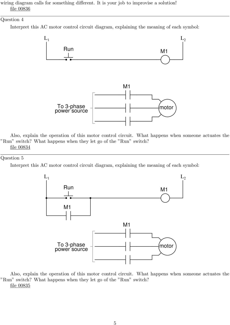 Ac Motor Control Circuits Pdf Circuit Ladder Logic Besides Plc Start Stop Of This What Happens When Someone Actuates The Run Switch