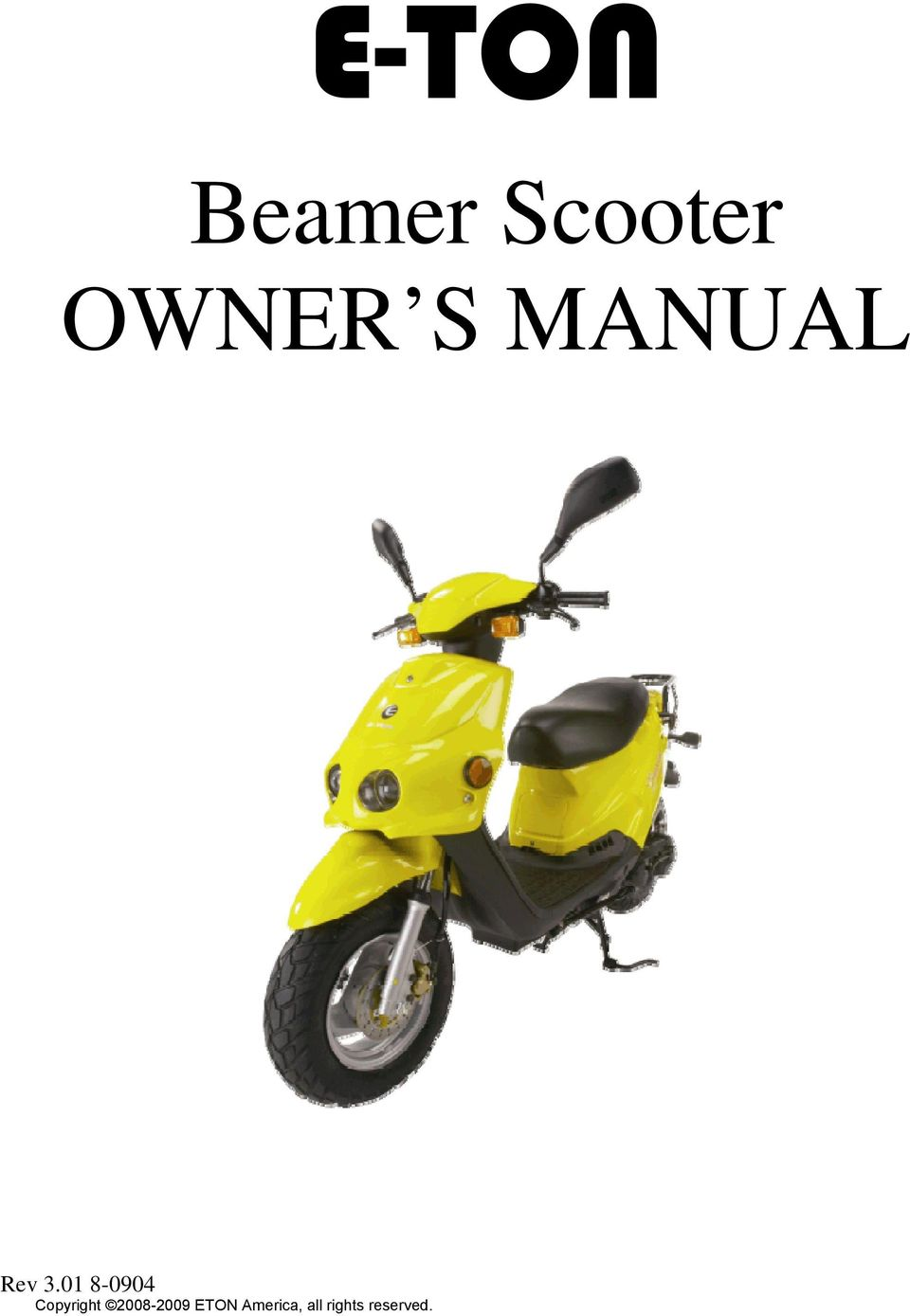 Brilliant E Ton Beamer Scooter Wiring Cloud Oideiuggs Outletorg
