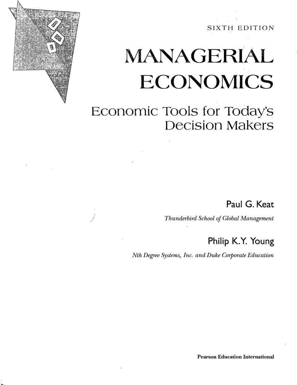 Managerial Economics Keat And Young 6th Edition Pdf