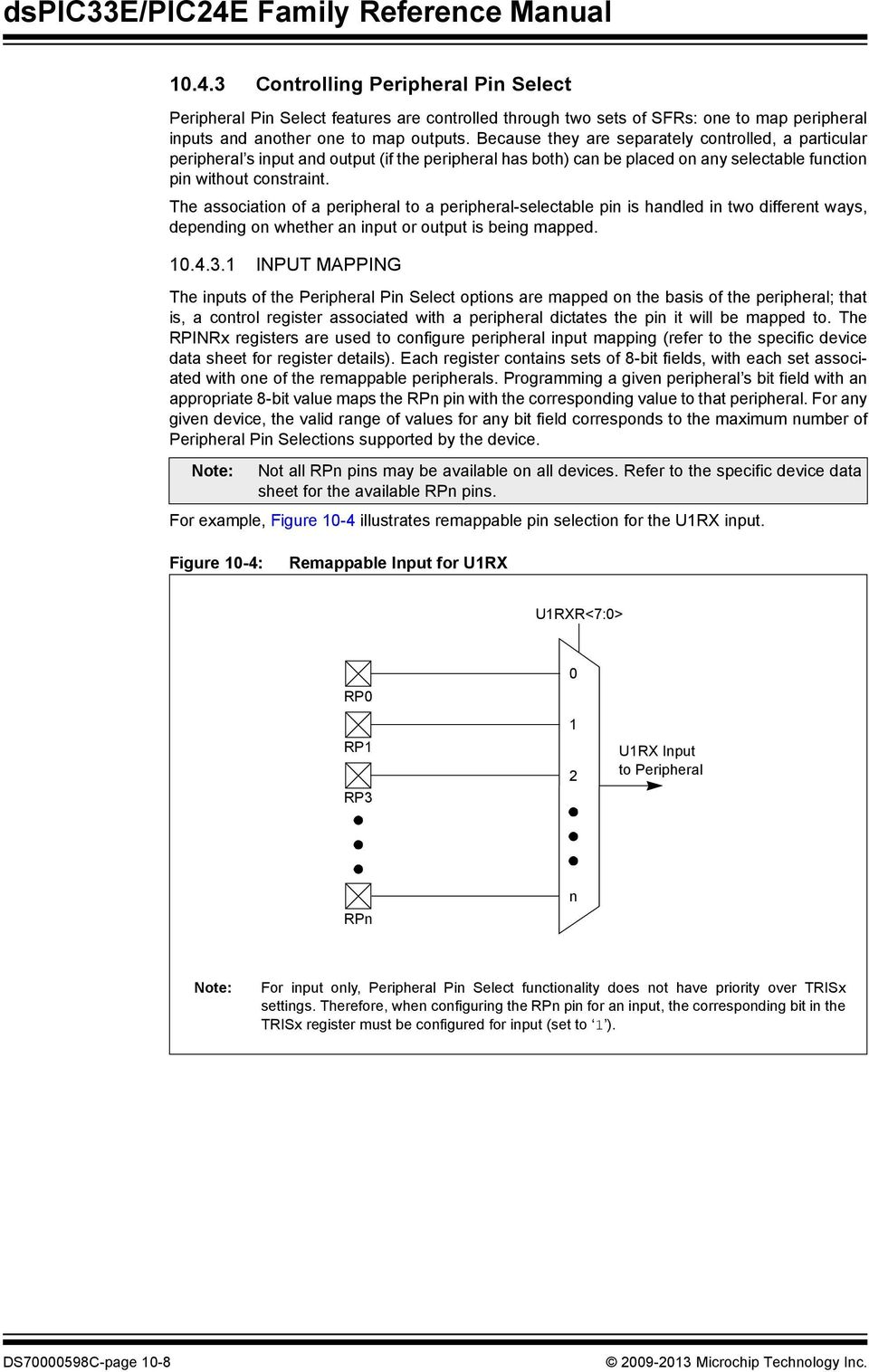 Section 10  I/O Ports - PDF