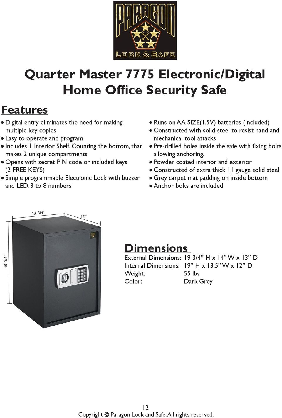 Operating Manuals For Safe Models Pdf Picture Of Quiz Show Buzzer System Using Staples Easy Button 3 To 8 Numbers L Runs On Aa Size1