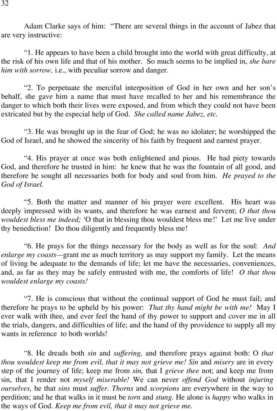 The Secret and Power of the Prayer of Jabez - PDF