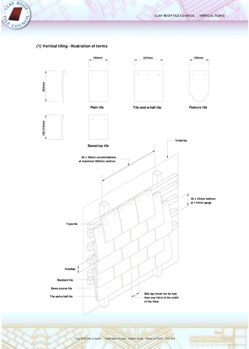 Clay Roof Tile Council Vertical Tiling Pdf Free Download