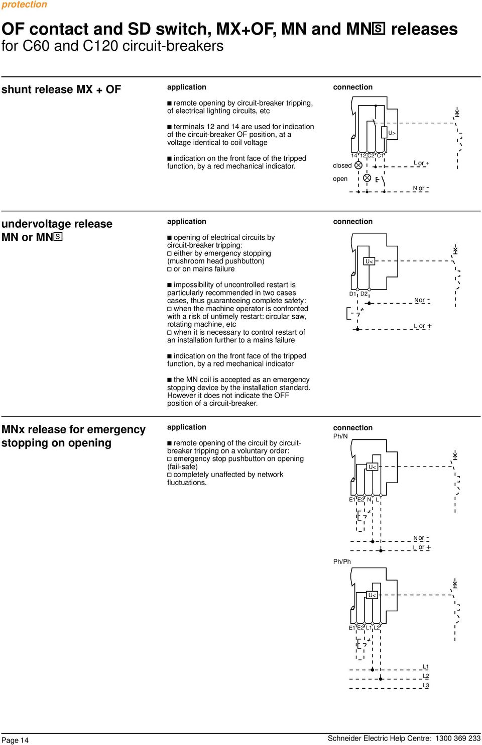 Fail Safe Shunt Trip Breaker Wiring Diagram Trusted Schematics Schematic On Afci Circuit Merlin Gerin Multi 9 System Protection Miniature Breakers Pdf Tripwire