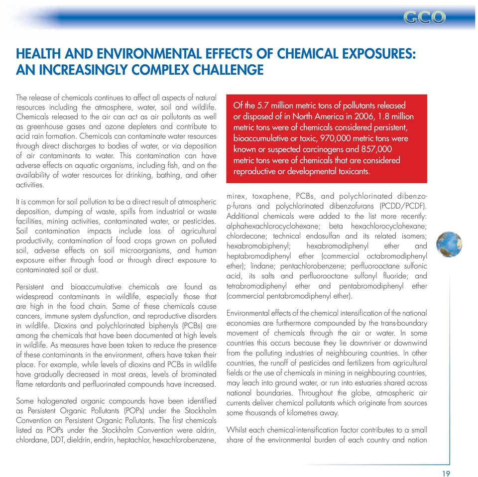 Global Chemicals Outlook - PDF