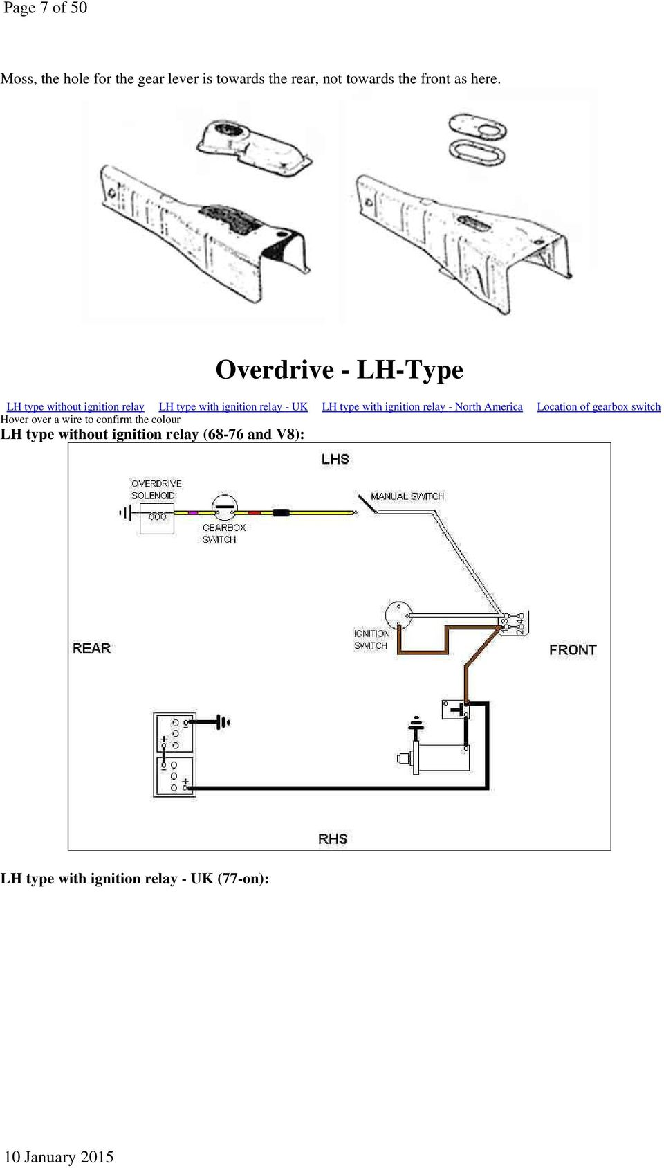 Overdrive D Type To 67 Pdf Relay Switch Ignition With North America Location Of Gearbox Hover Over A Wire