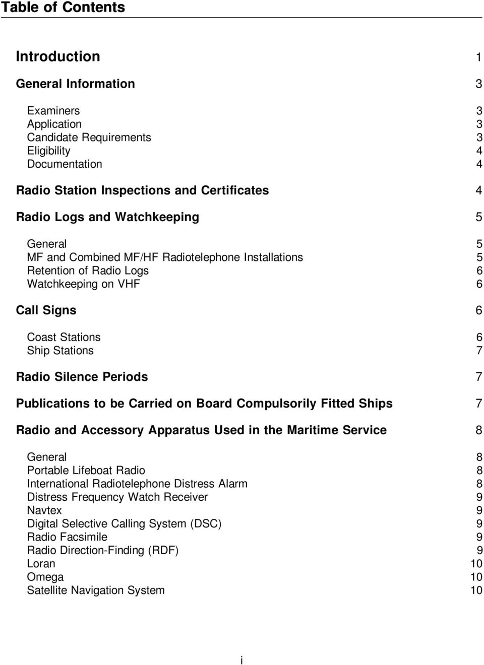 Study Guide for the General Operator's Certificate - PDF
