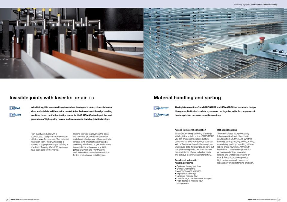 Tailor-made Furniture Production  A worldwide presence